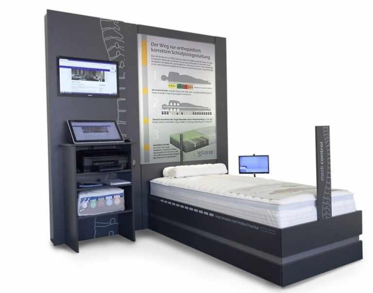 Matratze - Simulator Medicontrol