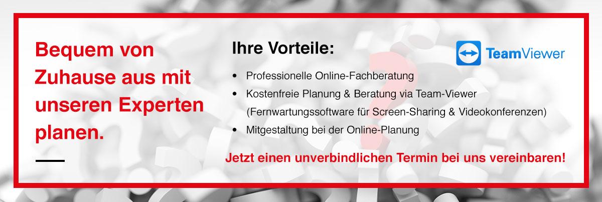 Teamviewer Banner für die Website